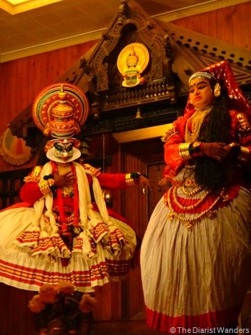 My 25th in Travel - February Kathakali Demonstration at Kochi