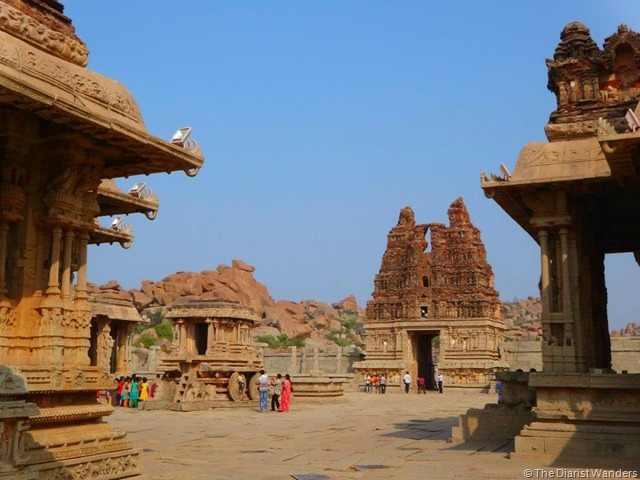 My 25th in Travel - February Vittala Temple Complex in Hampi