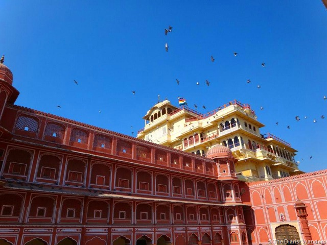 My 25th in Travel - January City Palace and Museum at Jaipur