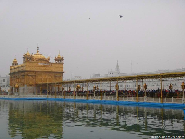 My 25th in Travel - January Golden Temple in Amritsar