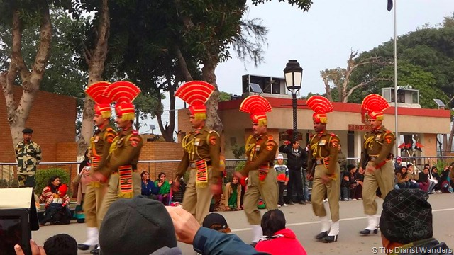 My 25th in Travel - January Indo-Pakistan Border Ceremony at Wagah Border