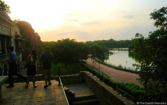 My 25th in Travel - July Delhi Nostalgia at Hauz Khas