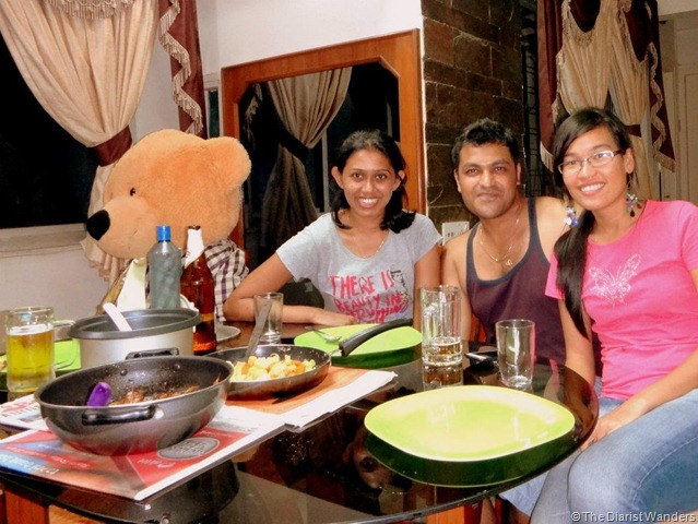 My 25th in Travel - June CouchSurfing with Rajie at Prasanna