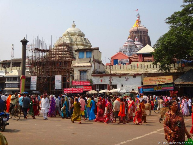 My 25th in Travel - October Jaganath Temple at Puri Orissa