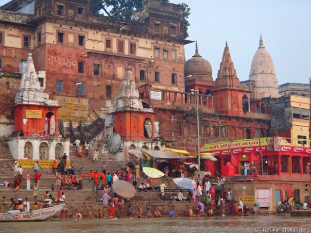 My 25th in Travel October Varanasi Ghats and the Ganges River