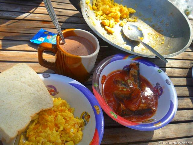 Nagsasa - Breakfast
