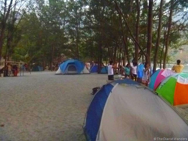Nagsasa - Campsite