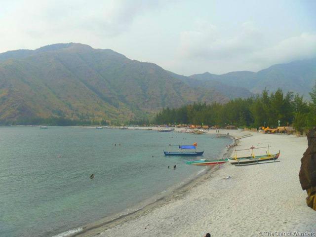 Nagsasa - Sand Sea Sky and Mountains