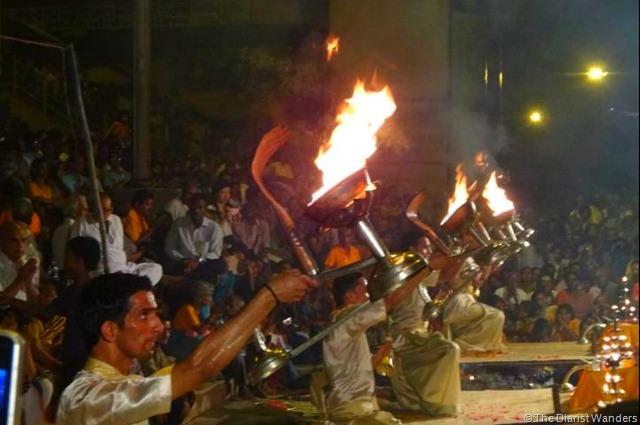 Varanasi Puja - Nagas on Fire