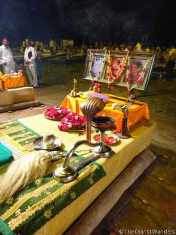 Varanasi Puja - Prayer Station
