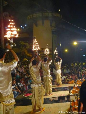 Varanasi Puja - Triangle Fire