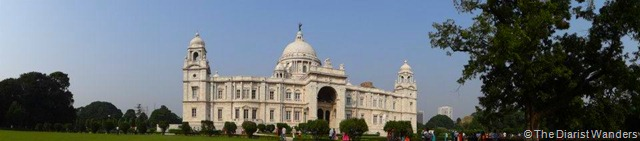 Viahera Vlogs - Kolkata - Victoria Memorial - Back Garden Panorama
