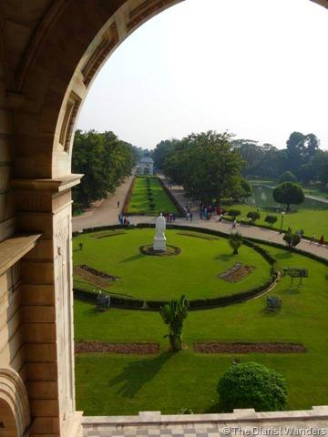 Viahera Vlogs - Kolkata - Victoria Memorial Terrace Garden