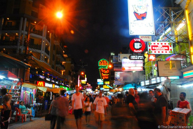 Backpacking SEA - Bangkok - Khao San at Night