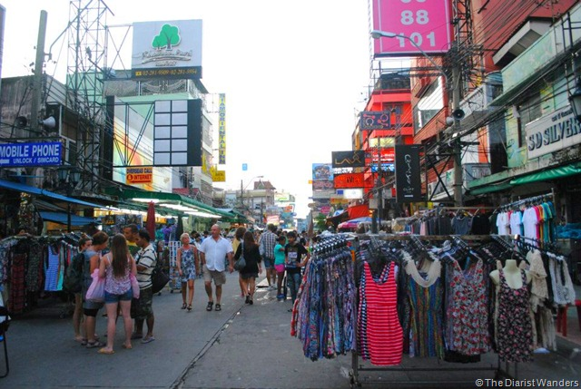 Backpacking SEA - Bangkok - Thanon Khao San