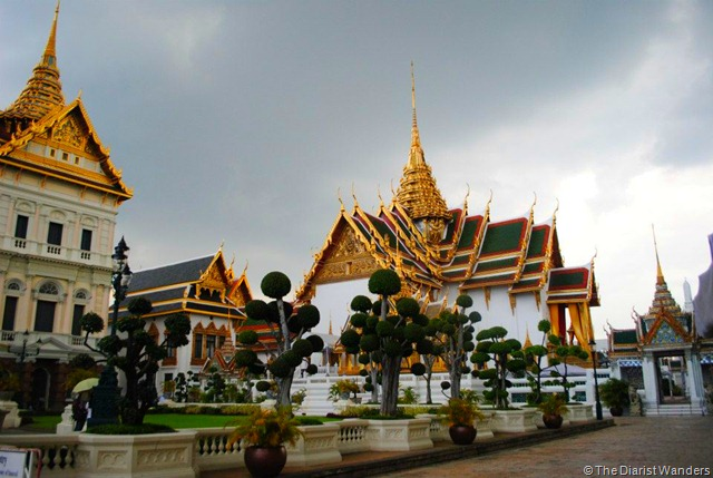 Backpacking SEA - Bangkok - The Grand Palace neighbor