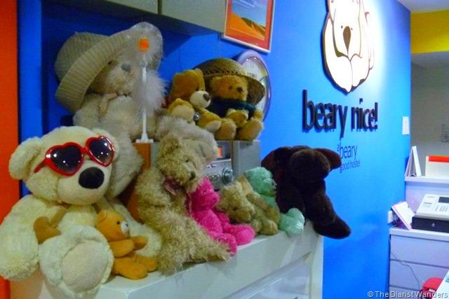 Singapore - Beary Nice lobby