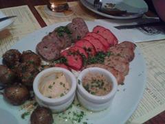Draft - Sausage Platter