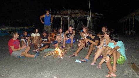 Beach Bonfire Group orig