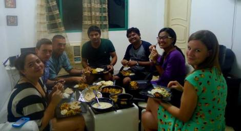 Dinner at Kapil's - Ciel