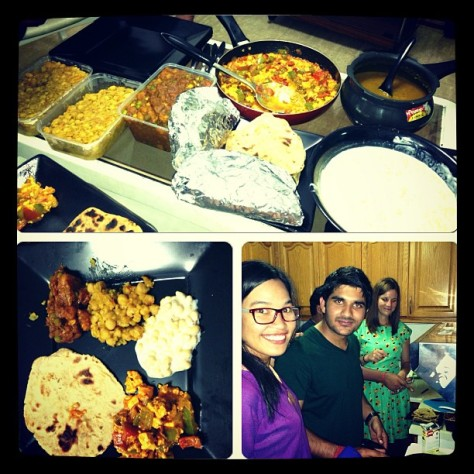 Indian Dinner - Mariane