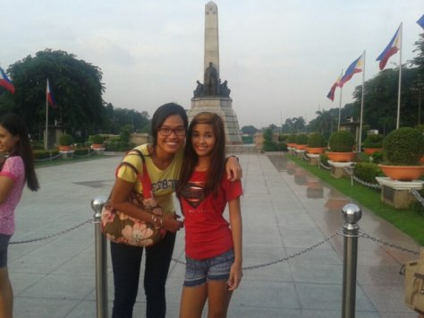 Extra tour at Rizal Park (a bit of Filipino history lesson too!)