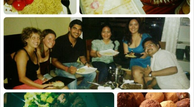 FoodieFriday: Indian Thirstday and Western Wednesday with CouchSurfers