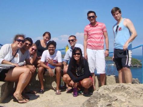 The 100 Islands Extravaganza Crew (top deck of Governor's Island)