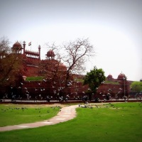 Reblogged: Old Delhi Red Fort - seat of the Mughal Empire
