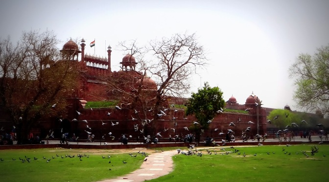 Reblogged: Old Delhi Red Fort – seat of the Mughal Empire