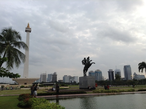 February - Monumen Nasional aka Monas at Jakarta