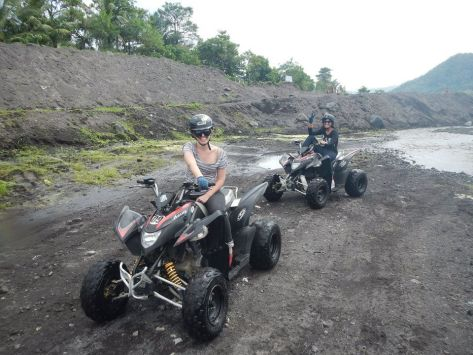 January - ATV Adventure along Mayon's lava path