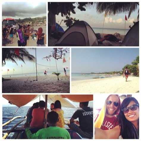 March - Photo Collage for Vulan Weekend at Cagbalete Island, Quezon