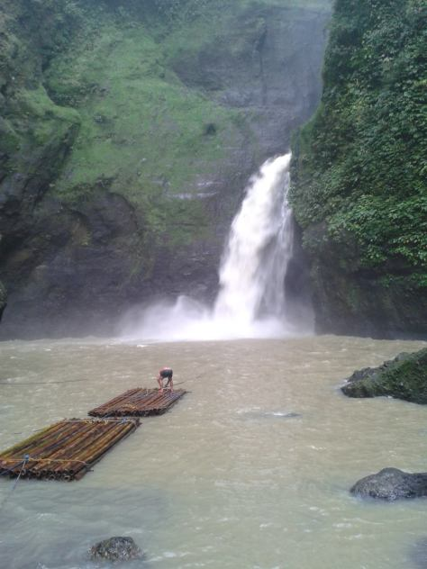 October - Pagsanjan Falls and the Bamboo Rafts