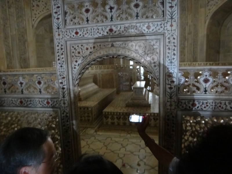 Inside the Taj Mahal: The Tombs of Mughal Emperor Shah Jahan and his third wife Mumtaz Mahal