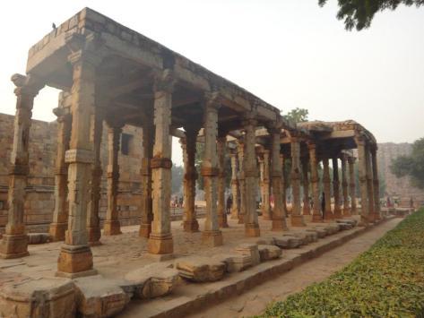 The Hindu-designed Pillars of the Quwwat-ul-Islam Mosque