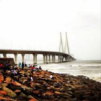 #100Days Photo 25: Mahim Bay and the Bandra-Worli Sea Link, Mumbai, Maharashtra, India