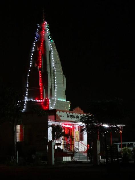 The community temple