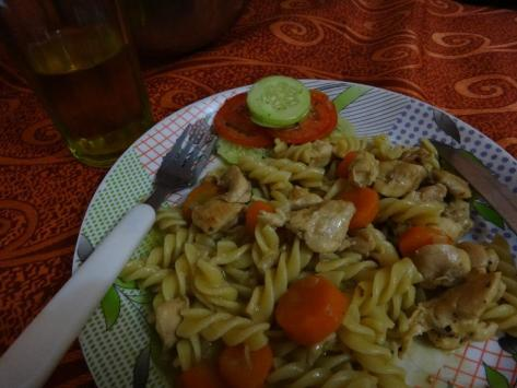 Chicken Pasta by Sue Mom for Breakfast