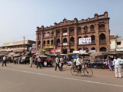 There's some old architecture to be seen in Puri, being a very old city