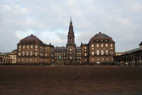 Christiansborg Palace, seat of Denmark's legislative, executive and judicial powers