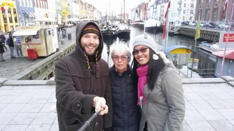 Copenhagen - Nyhavn Selfie