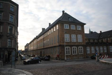 Just another street in Central Copenhagen