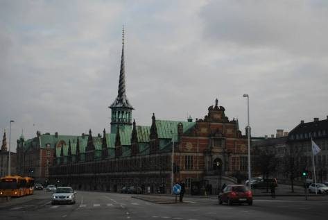 Boersen Building, Copenhagen Stock Exchange back in the day