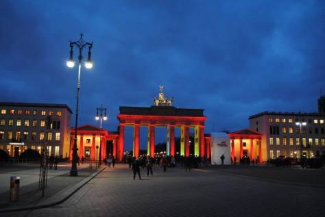 Fotofolio - Brandenburger Tor from Unter den Linden
