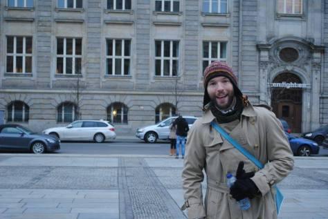 Fotofolio - Gendarmenmarkt Happy Penguin