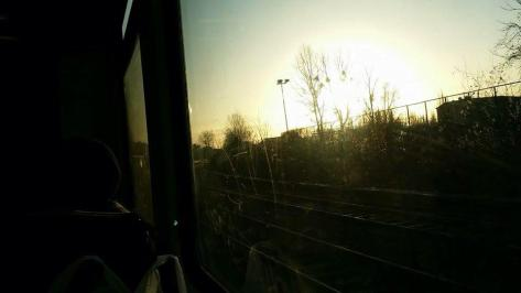 Fotofolio - morning view from the S Bahn