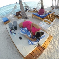 #100Days Photo 43: Strike Anywhere Breastfeeding at Bohol Beach Club, Panglao Island, Tagbilaran, Philippines