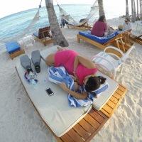 #100Days Photo 43: Strike Anywhere Breastfeeding at Bohol Beach Club, Panglao Island, Tagbilaran, Philippines